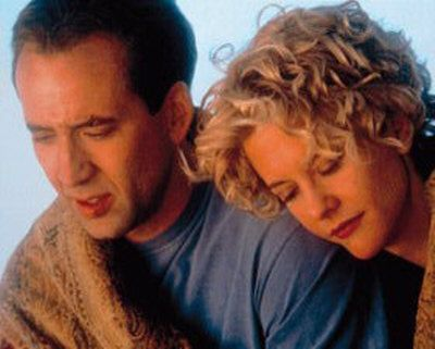 City of Angels Meg Ryan and Nicolas Cage