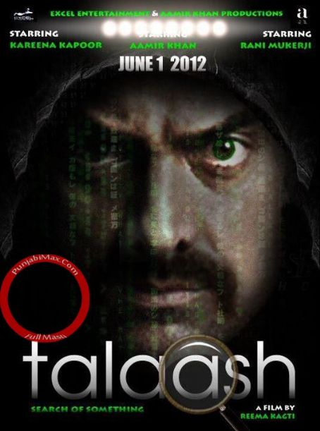 Aamir Khan - Talaash 2012 Movie New Posters