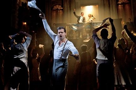 Evita  2012 Broadway Revivel Starring Ricky Martin