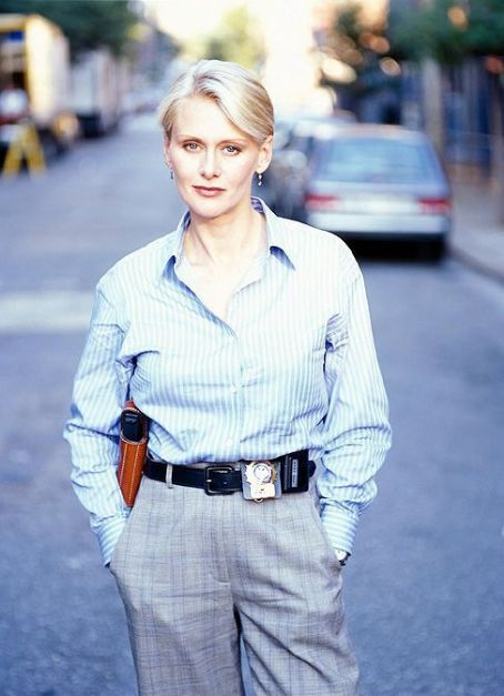 NYPD Blue Andrea Thompson as Det. Jill Kirkendall in