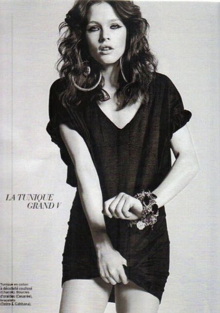 Lonneke Engel Marie Claire France February 2010