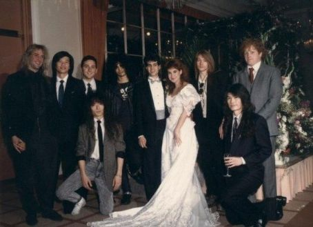 Slash and Renee Suran Wedding in 1992