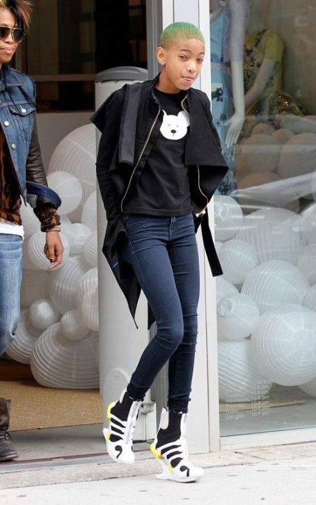 Willow Smith: Green & Gorgeous in NYC