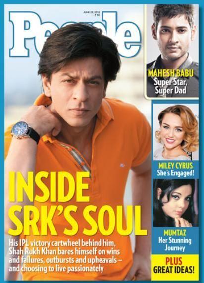 Shah Rukh Khan - People Magazine Cover [India] (July 2012)