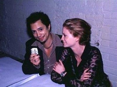 Julie and Kirk Hammett