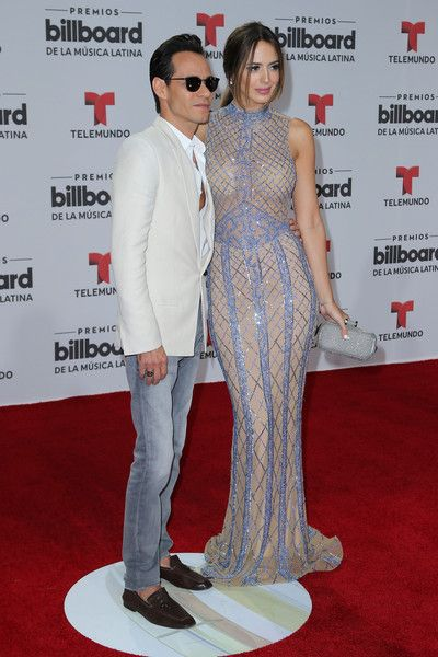 Marc Anthony and Shannon de Lima: Billboard Latin Music Awards - Arrivals