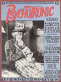 John Carradine (Cover of the 1st issue of Psychotronic Video)