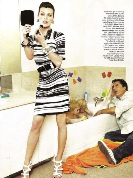 Chris Noth  with Milla Jovovich