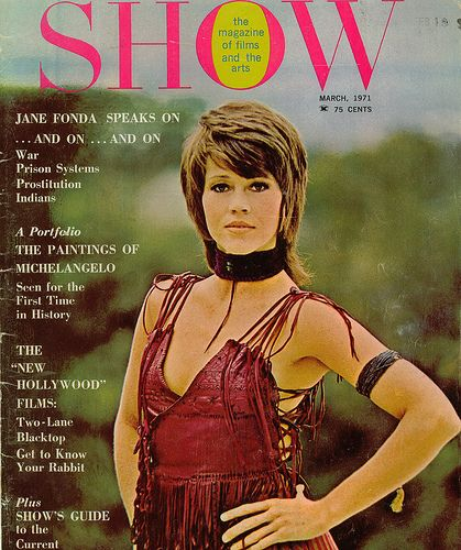 Jane Fonda - Show Magazine [United States] (March 1971)