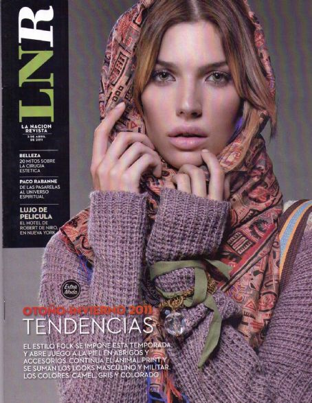 Chloe Bello - La Nacion Revista Magazine Cover [Argentina] (3 April 2011)