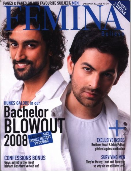 Kunal Kapoor - Femina Magazine [India] (30 January 2008)