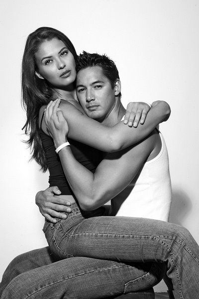 Marc Nelson  and Priscilla Meirelles