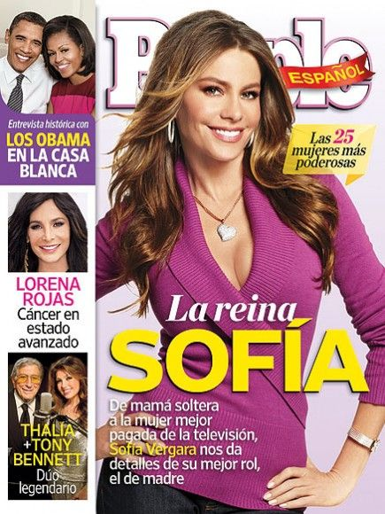 Sofía Vergara - People en Espanol Magazine Cover [Mexico] (November 2012)