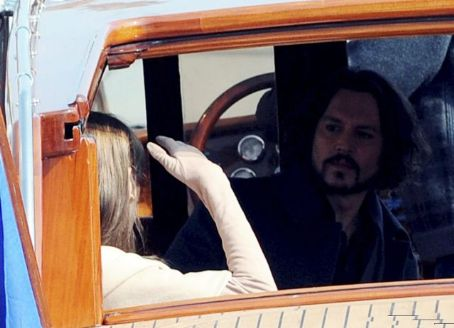 Johnny Depp and Angelina Jolie