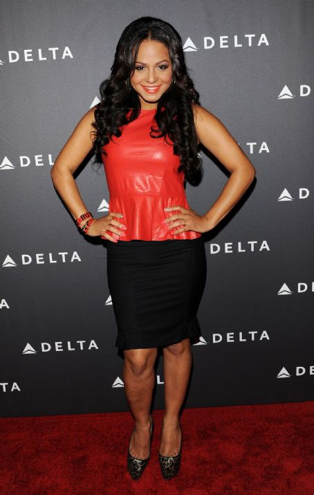 Christina Milian - CHRISTINA MILIAN at Delta Airlines Grammy Week LA Reception