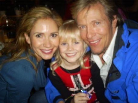 Ashley Jones Harley, Jack Wagner and  at The Bold and The Beautiful's 2008 Christmas Party
