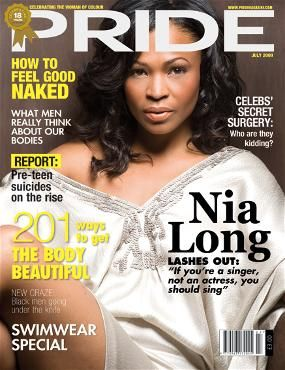 Nia Long - Pride Magazine Cover [United States] (July 2009)