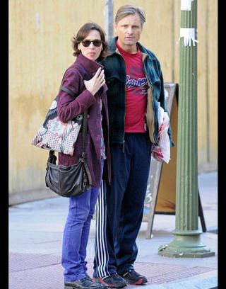 Ariadna Gil and Viggo Mortensen in love in Madrid