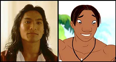 Jason Scott Lee  is the voice of David Kawena in Walt Disney's Lilo & Stitch - 2002