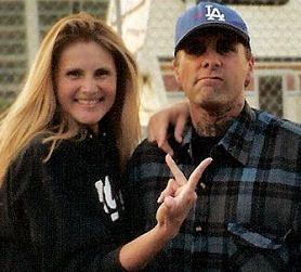 Lords of Dogtown - Me with Jay Adams on the set of Lords Of Dogtown the day he did his scene.