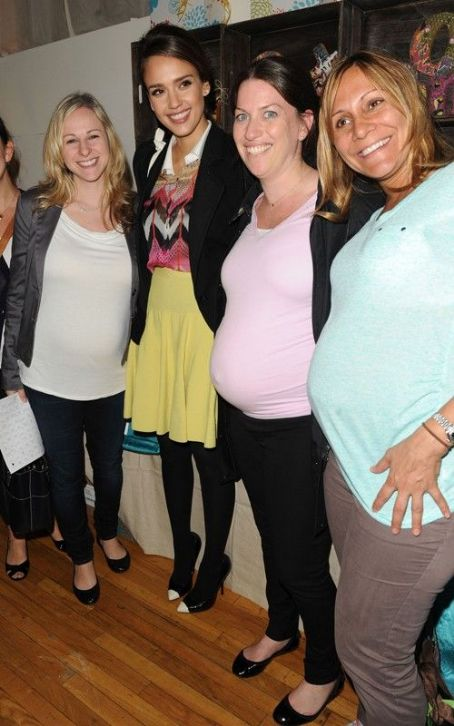 Jessica Alba: Biggest Baby Shower Babe