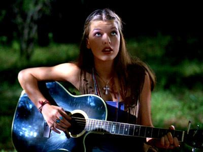 Dazed and Confused Milla Jovovich In Dazed And Confused (1992).
