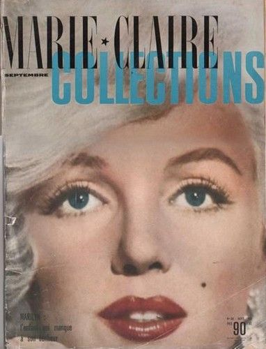 Marilyn Monroe - Marie Claire Magazine [France] (September 1959)