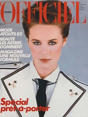 Lisa Rutledge - L'Officiel Magazine Cover [France] (January 1983)
