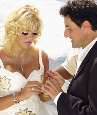 Anna Nicole Smith and Howard K. Stern