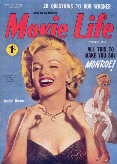 Marilyn Monroe - Movie Life Magazine [Australia] (November 1955)