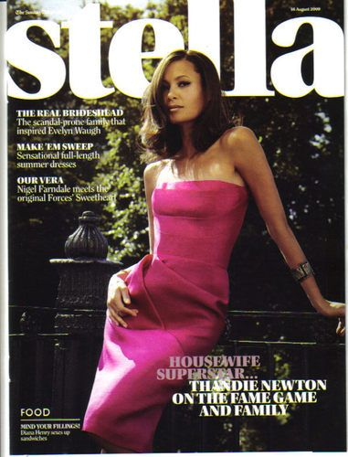 Thandie Newton - Stella Magazine Cover [United Kingdom] (23 August 2009)