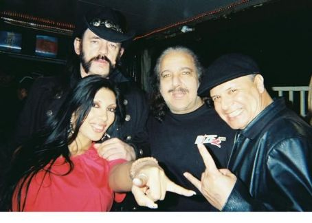 Jasmin St. Claire Ron Jeremy with Lemmy and Jasmin