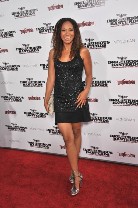 Tracie Thoms - Los Angeles Premiere 'Inglorious Basterds' At Grauman's Chinese Theatre On August 10, 2009 In Hollywood, California