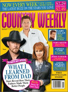 Trace Adkins - Country Weekly Magazine [United States] (22 June 2009)