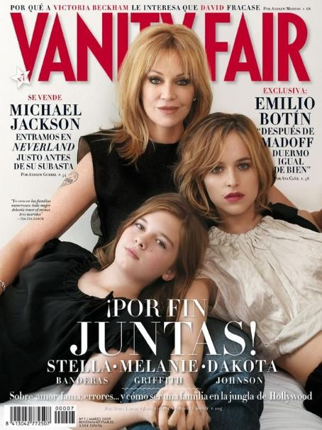 Stella Banderas Melanie Griffith, Dakota Johnson,  - Vanity Fair Magazine Pictorial [Spain] (March 2009)