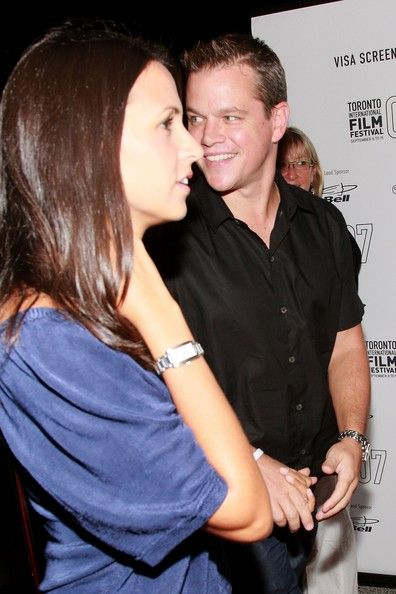 Luciana Damon - Luciana Barroso and Matt Damon