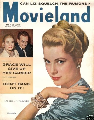 Grace Kelly - Movieland Magazine [United States] (May 1956)