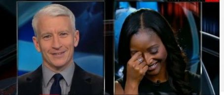 Isha Sesay  Giving Anderson Cooper a Hard Time on Anderson 360