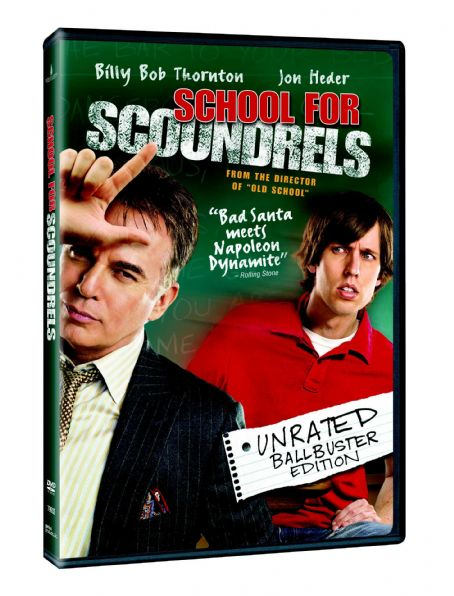 School for Scoundrels SCHOOL FOR SCOUNDRELS Box Art