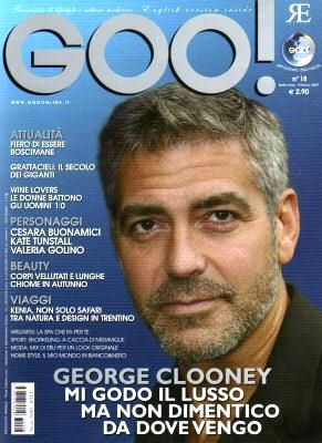 George Clooney - Goo! Magazine [Italy] (October 2007)