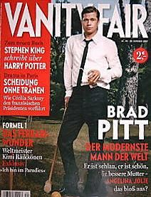 Brad Pitt - Vanity Fair Magazine [Germany] (25 October 2007)