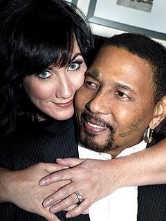 Aaron Neville Aaaron with second wife Sarah