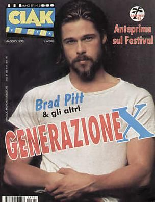 Brad Pitt - Ciak Magazine [Italy] (May 1995)