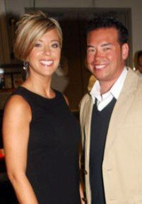 Kate Gosselin  and Jonathan Gosselin