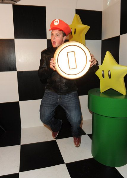 Jennette McCurdy, Noah Munck, and Kay Panabaker attended Nintendo's celebration of the launch of Super Mario 3D Land, November 3, at Siren Studios in Hollywood
