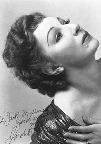 Judith Anderson Signed picture of