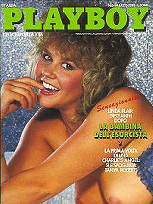 Linda Blair - Playboy Magazine [Italy] (March 1983)