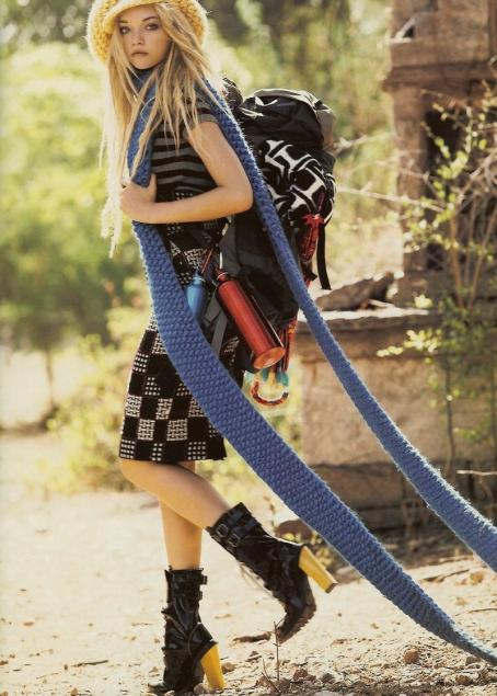 Gemma Ward - Vogue UK September 2007