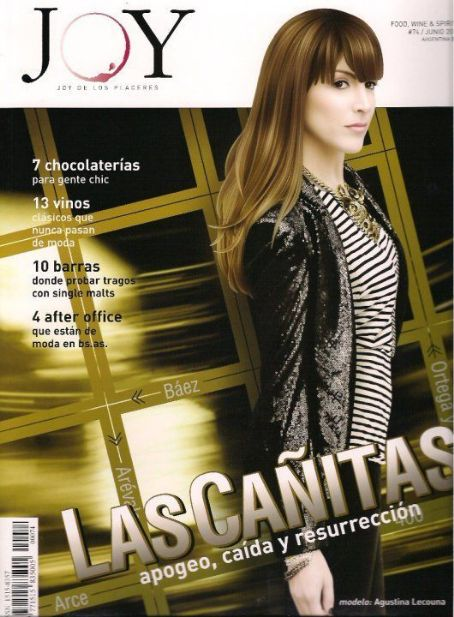 Agustina Lecouna - Joy Magazine Cover [Argentina] (1 July 2010)