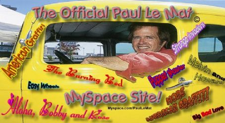 Paul Le Mat 's MySpace